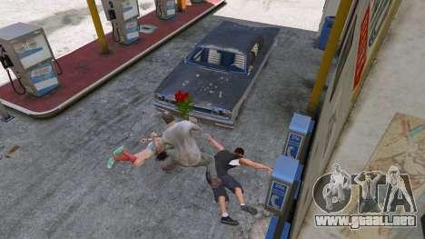 GTA 5 Un ramo de flores cuarto captura de pantalla