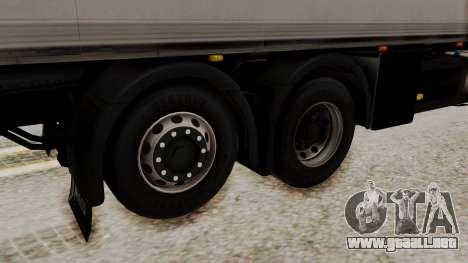 Iveco Truck from ETS 2 para GTA San Andreas vista posterior izquierda