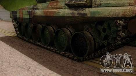 PT-91A Twardy para GTA San Andreas vista posterior izquierda
