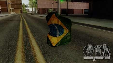 Brasileiro Thermal Goggles v2 para GTA San Andreas segunda pantalla