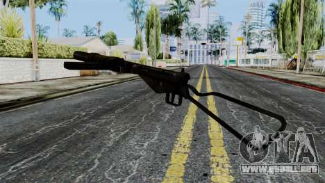Sten MK IIS from Battlefield 1942 para GTA San Andreas segunda pantalla