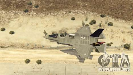 GTA 5 F-35B Lightning II (VTOL) octavo captura de pantalla