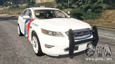 Ford Taurus State Troopers San Andreas para GTA 5