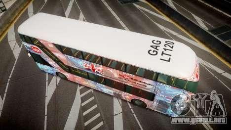 Wrightbus New Routemaster para GTA 4 visión correcta