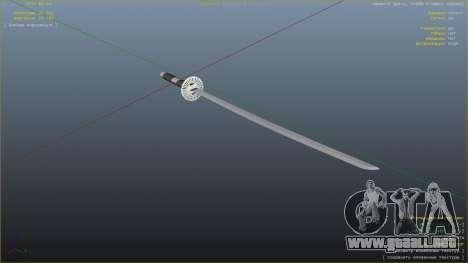 GTA 5 Katana sexta captura de pantalla