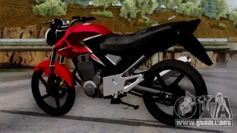 Honda Twister 2014 para GTA San Andreas left