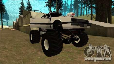 Willard Monster para el motor de GTA San Andreas