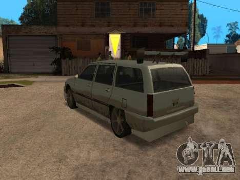 New Solair para GTA San Andreas vista posterior izquierda
