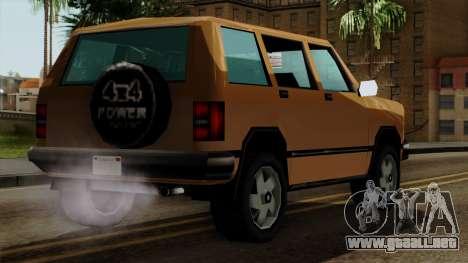 Landstalker from Vice City IVF para GTA San Andreas left