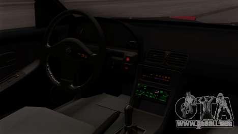 Nissan 180SX Street Golden Rims para la visión correcta GTA San Andreas