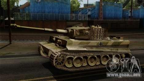 Panzerkampfwagen VI Ausf. E Tiger No Interior para GTA San Andreas
