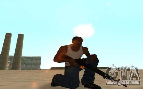 Nitro Weapon Pack para GTA San Andreas séptima pantalla