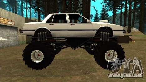 Willard Monster para GTA San Andreas left