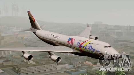 Boeing 747-400 Friendship Tag para GTA San Andreas