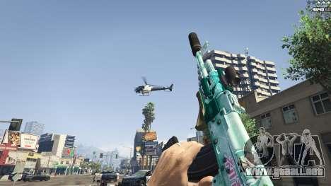 GTA 5 Rifle de asalto de Anime quinta captura de pantalla