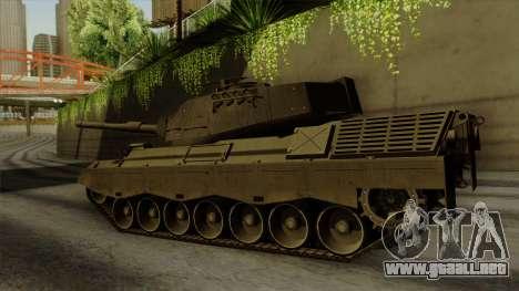 Leopard 1A5 para GTA San Andreas left