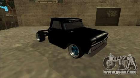 Chevrolet C10 Drift Monster Energy para GTA San Andreas left