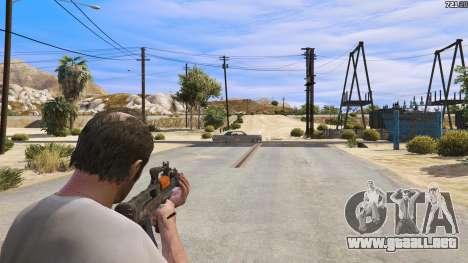 GTA 5 OTS-14 Groza de Battlefield 4 tercera captura de pantalla