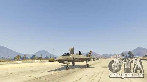 GTA 5 F-35B Lightning II (VTOL) tercera captura de pantalla