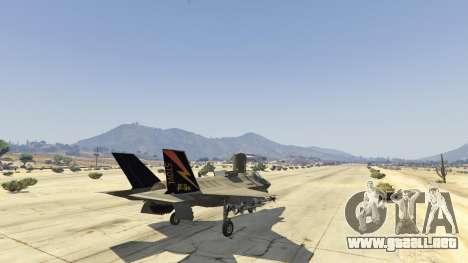GTA 5 F-35B Lightning II (VTOL) quinta captura de pantalla