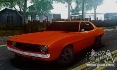 Chevy Camaro 69 para GTA San Andreas