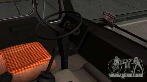 Mercedes-Benz NG 1632 para la visión correcta GTA San Andreas