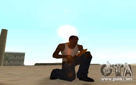Nitro Weapon Pack para GTA San Andreas quinta pantalla