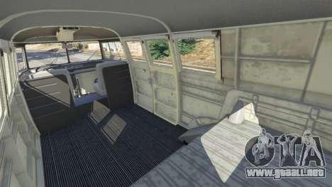 GTA 5 Volkswagen Transporter 1960 rusty [Beta] vista lateral derecha