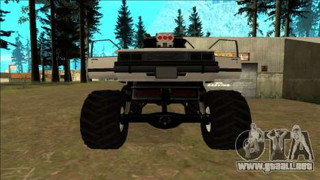 Willard Monster para GTA San Andreas interior