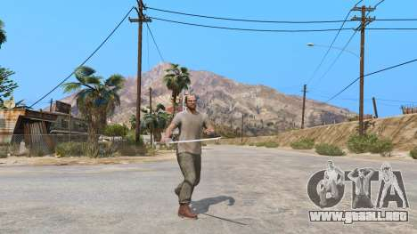 GTA 5 Katana segunda captura de pantalla