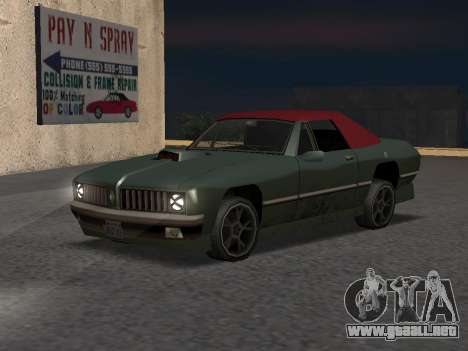 New Stallion para GTA San Andreas