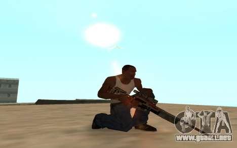 Asiimov Weapon Pack v2 para GTA San Andreas quinta pantalla