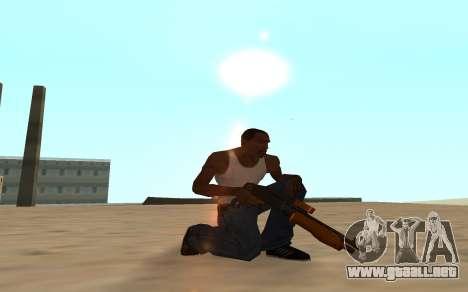Nitro Weapon Pack para GTA San Andreas octavo de pantalla