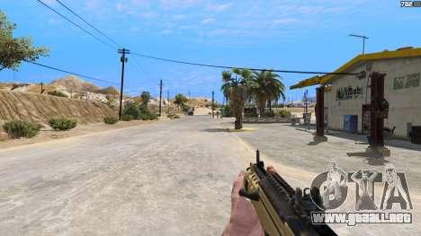 GTA 5 TAR-21 из Battlefield 4 quinta captura de pantalla