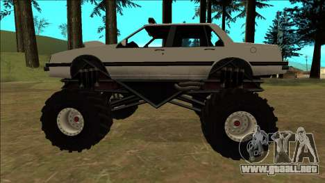 Willard Monster para visión interna GTA San Andreas