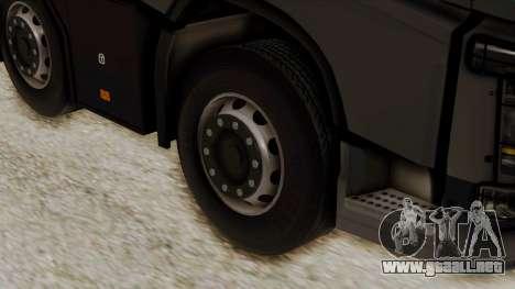 Volvo FH Euro 6 10x4 Low Cab para GTA San Andreas vista posterior izquierda