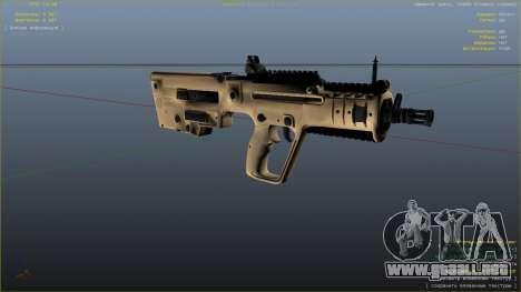 GTA 5 TAR-21 из Battlefield 4 séptima captura de pantalla