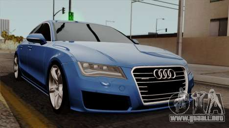 Audi A7 Sportback 2009 para GTA San Andreas