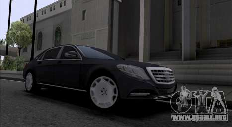 Maybach S400 para GTA San Andreas left