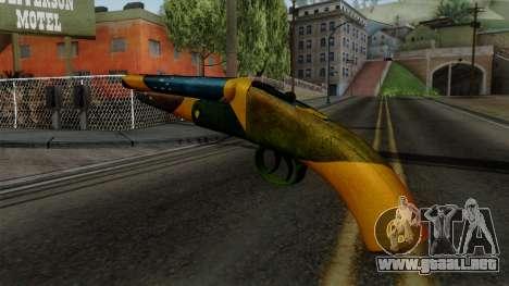 Brasileiro Sawnoff Shotgun v2 para GTA San Andreas segunda pantalla