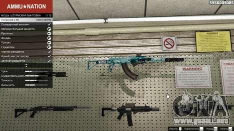 Rifle de asalto de Anime para GTA 5