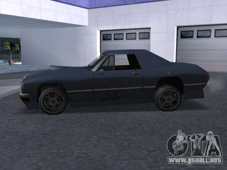 New Stallion para la vista superior GTA San Andreas
