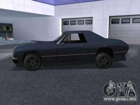 New Stallion para la vista superior GTA San Andreas