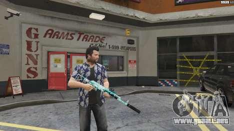 GTA 5 Rifle de asalto de Anime segunda captura de pantalla
