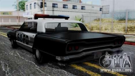 Police Savanna 2.0 para GTA San Andreas left