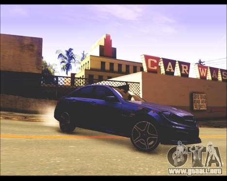 REXAS ENB v1 para GTA San Andreas sucesivamente de pantalla