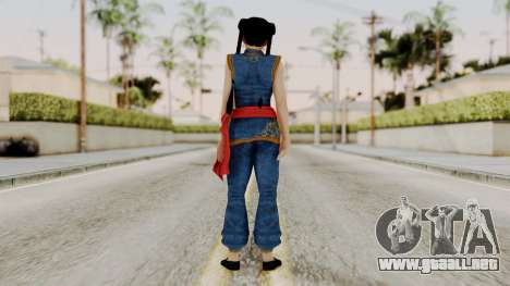 DOA 5 Pai Chan para GTA San Andreas tercera pantalla