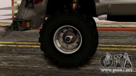 Ford Explorer Zombie Protection para GTA San Andreas vista posterior izquierda