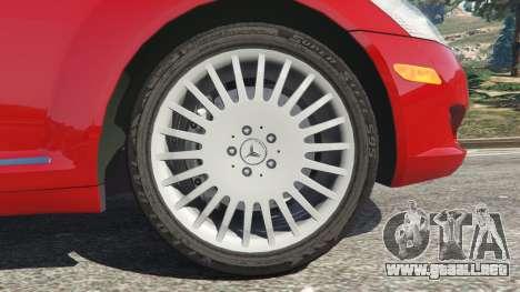 GTA 5 Mercedes-Benz S550 W221 v0.4.1 [Alpha] vista lateral trasera derecha