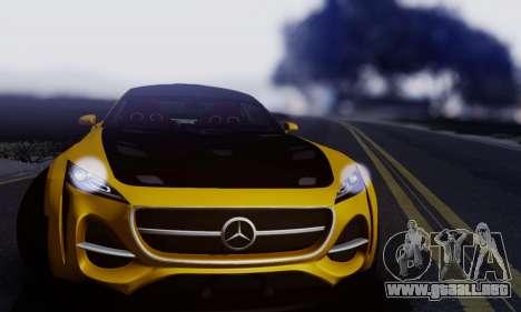 Mercedes-Benz AMG GT para GTA San Andreas left